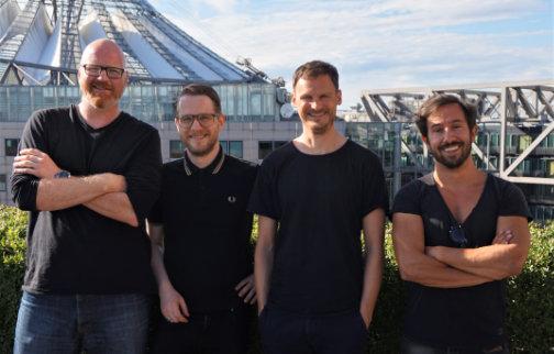 Team Makai Hard Seltzer von links Martin Bersem, Nico Bödeker, Jan Neutard, Dr. Johannes Matthias